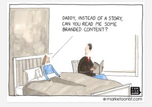content cartoon